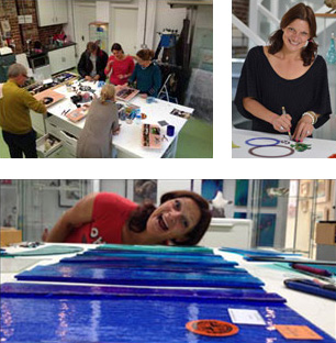 Siobhan Jones Designer Glass Fused Glass Courses At The Forge Gallery